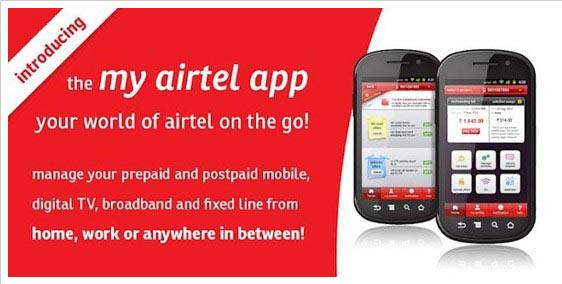 Airtel App Paytm