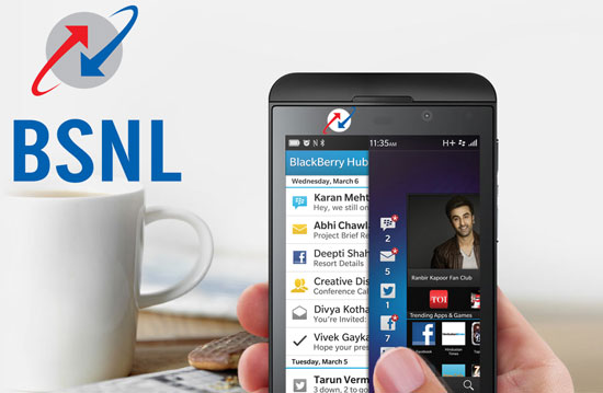 BSNL Blackberry Plans for BB Z10