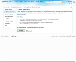 Configure Free Outlook Email for your domain