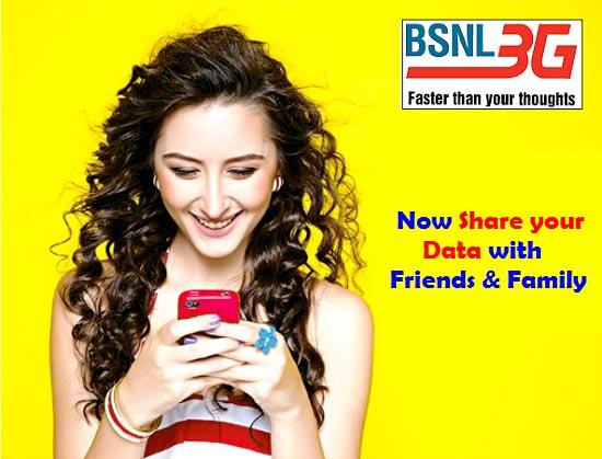 BSNL Data Sharing
