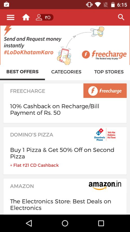 Coupon Dunia Mobile App