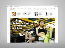 Myntra Desktop Website
