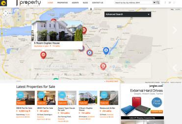 1Property Real Estate Website