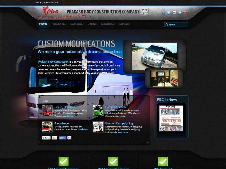 Prakash Body Construction (PBC Buses)