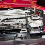 Canon Pixma MX457 Open with Ink Tube