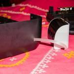 Canon Pixma MX457 - Ink Tube Hole on Side Panel