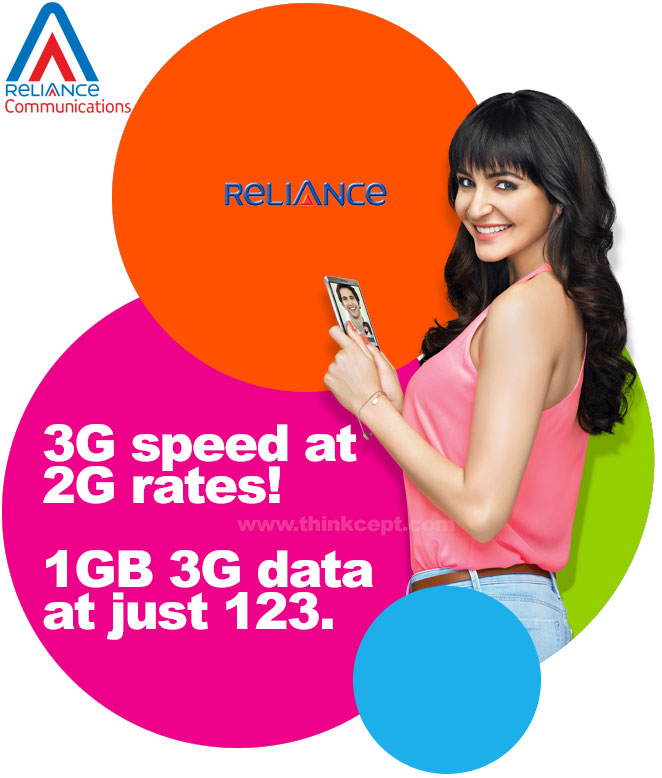 Reliance 3G 2G Plans
