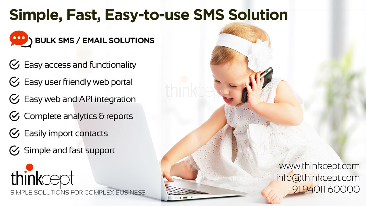 Transactional & Promotional Bulk SMS at Best Prices » Thinkcept