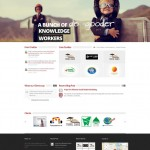 StickyGarlic Communications brand consultancy firm website
